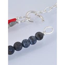 Adelia´s Kette ohne Anhänger Koralle Halskette