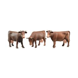 Bruder® Sammelfigur BRUDER 2308 Kuh braun -3 fach sortiert-
