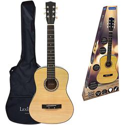 Akustische Holzgitarre,  91 cm beige