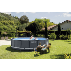 Intex Frame Pool Set Ultra Rondo Ø 488 x 122 cm