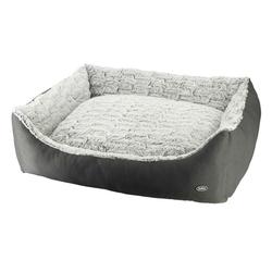 Nobby Hundebett RIWU, L x B x H: 100 x 80 x 25 cm, grau