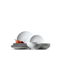 Thomas Porzellan Geschirr-Set Set 16-tlg. - LOFT Weiß