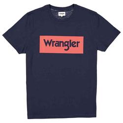 Logo T-Shirt tee | Wrangler navy M