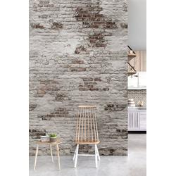 Andiamo Vliestapete Backstein Wand, (1 St), 1 Rolle á 3 Bahnen 159 cm x 280 cm