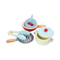 Le Toy Van Spielgeschirr Honeybake Topf- und Pfannenset