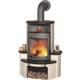 Hark Avenso 7 kW Kachel jola-braun/stone