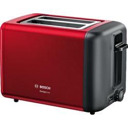 Toaster »TAT3P424DE DesignLine«, 820 Watt, Toaster, 52707732-0 rot rot