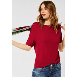 STREET ONE T-Shirt mit Tape im Rücken rot XXL (44)