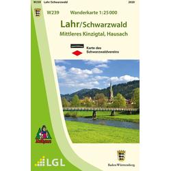 Lahr / Schwarzwald 1 : 25 000