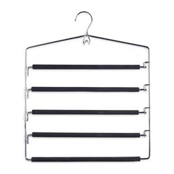 Zeller Zeller Metall Kleiderbügel schwarz