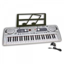 Bontempi Digitales Keyboard, grau