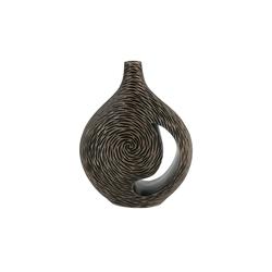 Deko Vase  Circle ¦ braun