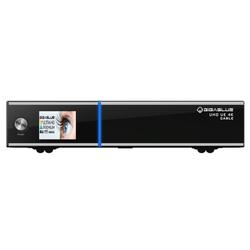 Gigablue UE UHD 4K 2xDVB-S2X FBC 1xDVB-C/T2 Single H.265 E2 Linux Receiver