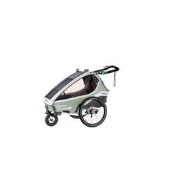 Qeridoo Fahrradkinderanhänger Qeridoo Kidgoo1 Pro 2020 grün