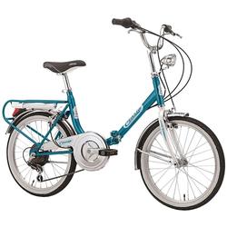 Cicli Cinzia Klapprad blau