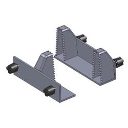 Holzklauen Set für Croc-Lock Werkbank für besonders sicheren Halt
