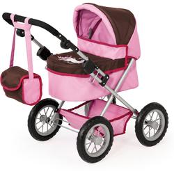 Bayer Puppenwagen Puppenwagen Trendy braun/rosa
