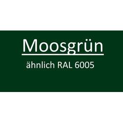 Mauerwinkel für Zaunmatten Moosgrün RAL 6005