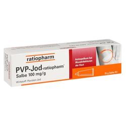 PVP-Jod-ratiopharm Salbe