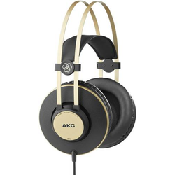 AKG Harman K92 Studio Over Ear Kopfhörer Over Ear Schwarz, Gold