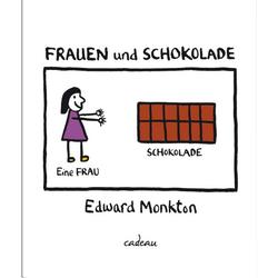 Frauen und Schokolade als Buch von Edward Monkton