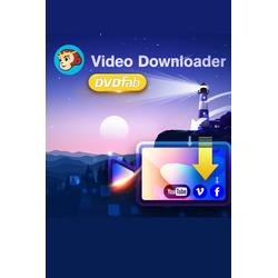 DVDFab Video Downloader (Lebenslange Lizenz)