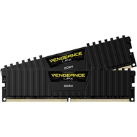 Corsair Vengeance LPX schwarz 16GB Kit DDR4 PC4-21300 (CMK16GX4M2A2666C16)