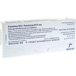 FORMICA D 3/Formica D 15 aa Ampullen 8X1 ml