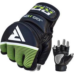 RDX J1 Kinder MMA Grappling Handschuhe (Größe: Standardgröße, Farbe: Schwarz)