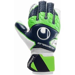 uhlsport Herren Soft Hn Comp Handschuhe, Marine/Fluo grün/Weiß, 6.5