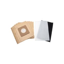 AccuCell Staubsaugerrohr 5x Staubsaugerbeutel Papier + 1x Mikrofilter wie R