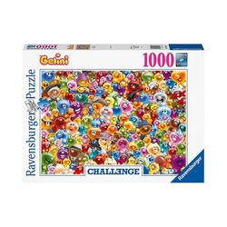Ravensburger Puzzle Ganz viel Gelini, 1.000 Teile, Puzzleteile
