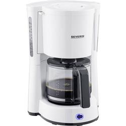 Severin Type Kaffeemaschine Weiß Fassungsvermögen Tassen=10 Glaskanne, mit Filterkaffee-Funktion