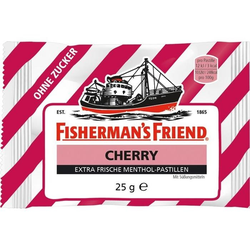 FISHERMANS FRIEND CHERRY OHNE ZUCKER