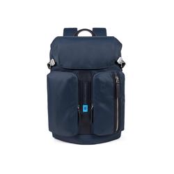 Piquadro Laptoprucksack PQ-BiosPQ-Bios, Nylon blau