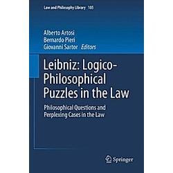 Leibniz: Logico-Philosophical Puzzlesin the Law - Buch