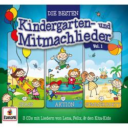 3er Box 01 (Die besten Kindergarten- & Mitmachlieder)