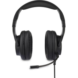 Renkforce Gaming Headset USB schnurgebunden Over Ear Black