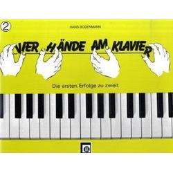 Vier Hände am Klavier. Bd.2