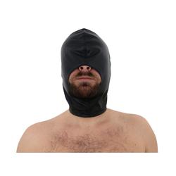 Leder Kopf Kopfmaske Open Mouth