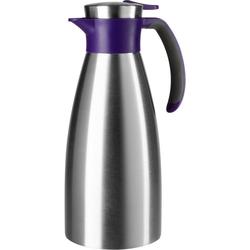 Emsa Isolierkanne Soft Grip, 1,5 l, 1,5 Liter, auslaufsicher lila 1,5 l - Ø 12,5 cm x 12,5 cm x 28,5 cm