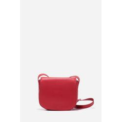 ATT Jeans Umhängetasche, mit Magnetknopf-Verschluss rot