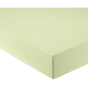 Pinolino 540004-3 - Spannbetttuch für Wiegen, Jersey, lemon