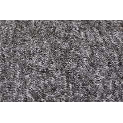 Teppichboden Paul, Andiamo, rechteckig, Höhe 6 mm, Meterware, Breite 400 cm, strapazierfähig, pflegeleicht grau 400 cm x 6 mm