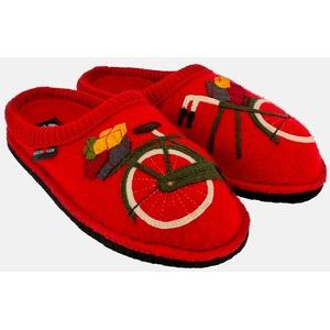 Haflinger Flair Radl 313060 Pantoffel rot 36