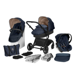 cbx Kombikinderwagen Bimisi Flex One Box Smoky Anthracite mit Babyschale Shima by cybex