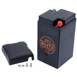 Blitz Gel Batterie 0811 6V/12AH 12A 6V 6 Volt Oldie Vespa Grand Sport Rally BMW Classic Line R25 R50 R50 S R51 R60 R69 B49-6 Bj 1953-1969