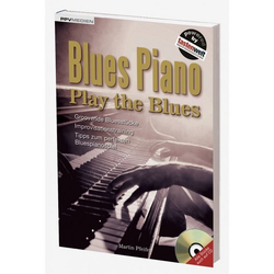 Blues Piano. Play the Bluesm. Audio-CD