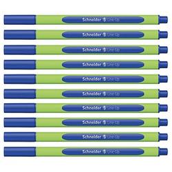 10 Schneider Line-Up Fineliner blau 0,4 mm