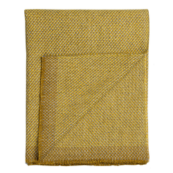 Una Wolldecke Ocker Røros Tweed